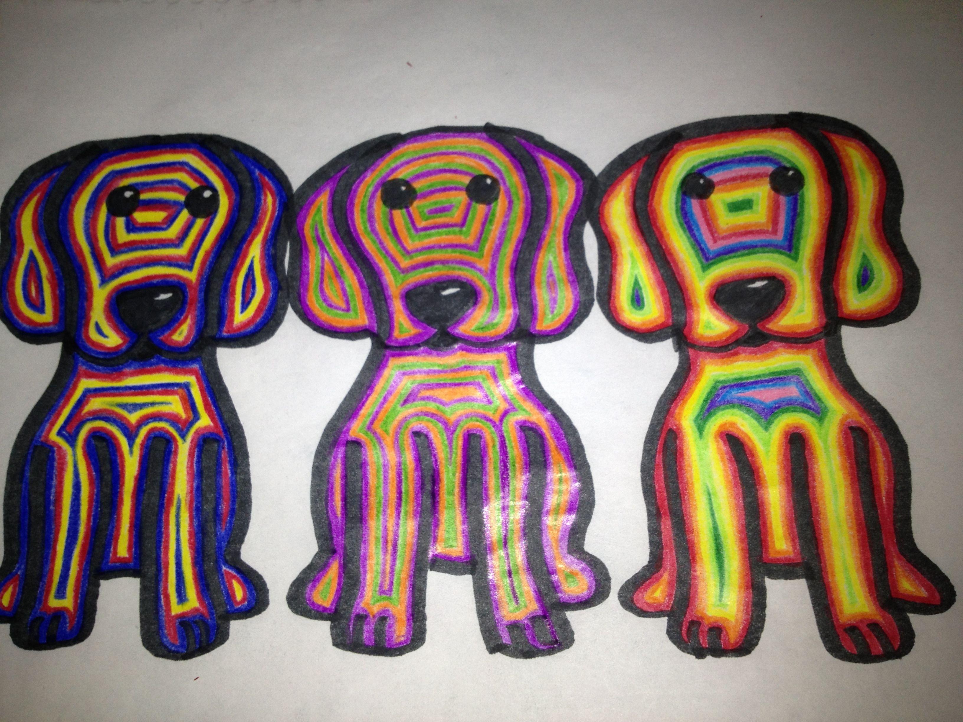 Beagle color