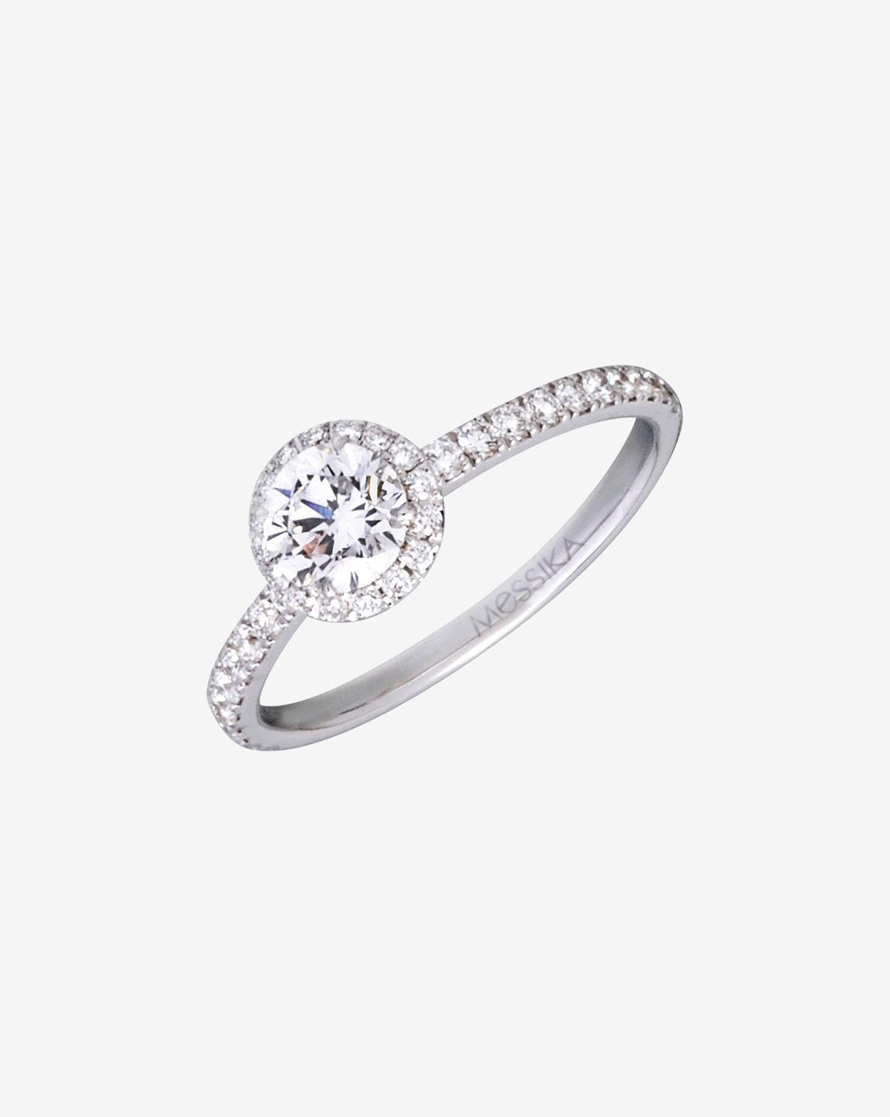 bague solitaire luxe