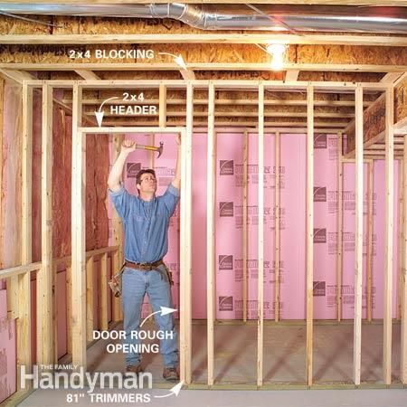 framing an interior wall. How To Finish A Basement: Framing And Insulating | Basement Walls, Walls Basements An Interior Wall