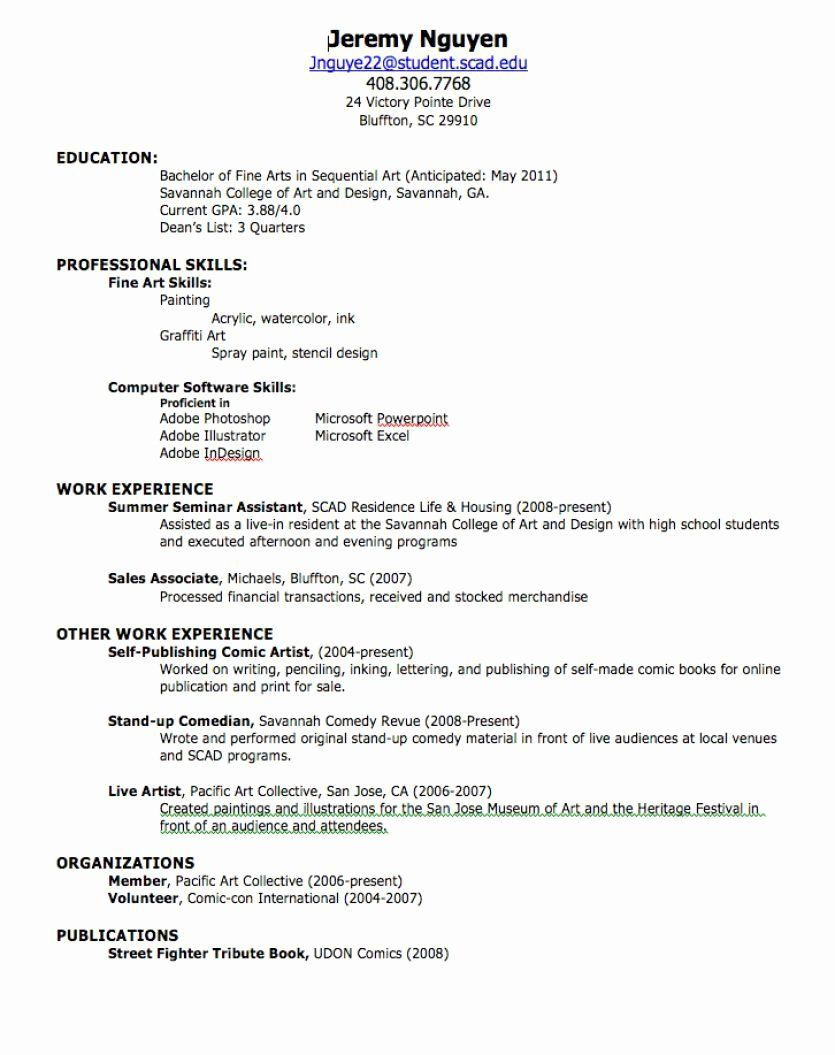 High School Job Resume Unique How To Create A Professional Resume Job Resume Examples How To Make Resume First Job Resume