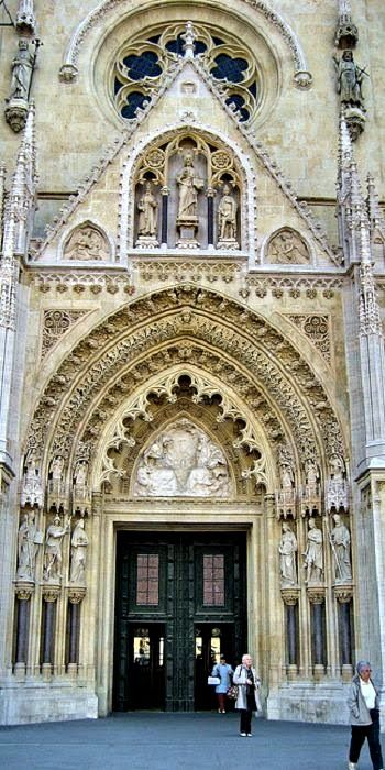 Zagreb Cathedral Croacia Gothic Cathedrals Cathedral Gothic Revival Architecture