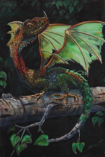 Adult Alaskan Birch Dragon by Scott Thompson