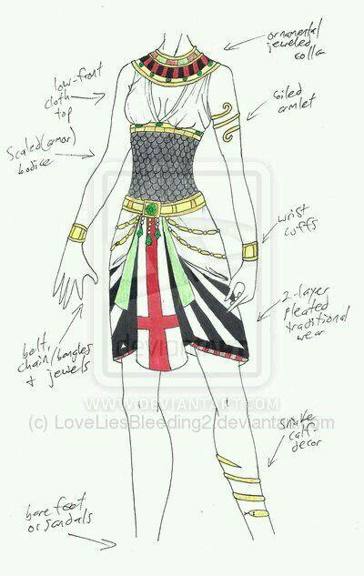 945436613 Egyptian Outfit Ropa Egipcia