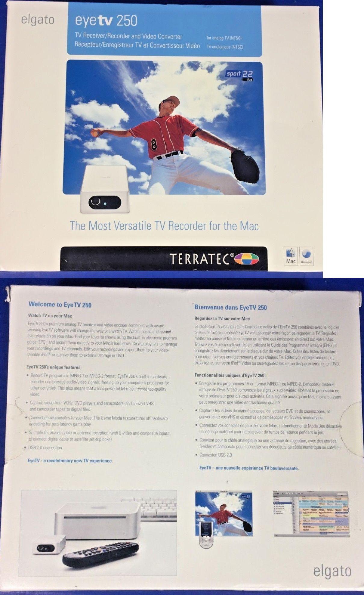 TV Tuner Video Capture Devices 175679: Elgato Eyetv 250