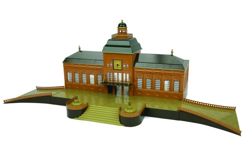MTH`s new TINPLATE TRAIN  'LEIPZIG STATION' from the 1919 by MARKLIN..
