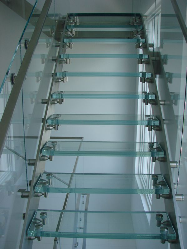 Best Interior Exterior Custom Glass Stair Treads With Images 400 x 300