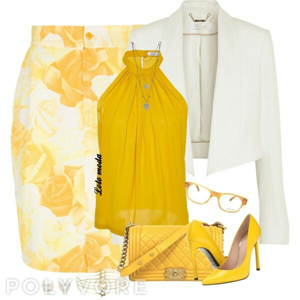 For yellow lovers
