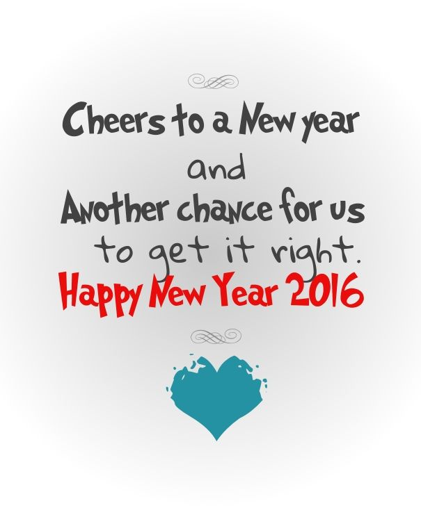 Cheers to a new year and another chance for us to get it right happy ...