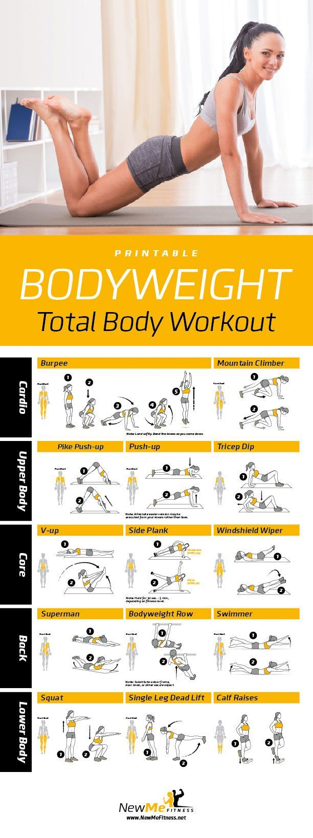 Printable Core Stability Ball Workout Poster  Workouts With
