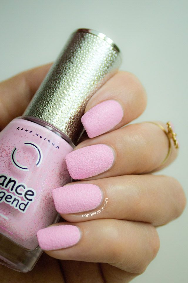 Pink nails - textured polish. Click for more swatches. #pinknails #summer2013
