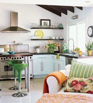 Cocinas para espacios pequeños   Cocinas y Despensas   Pinterest ...