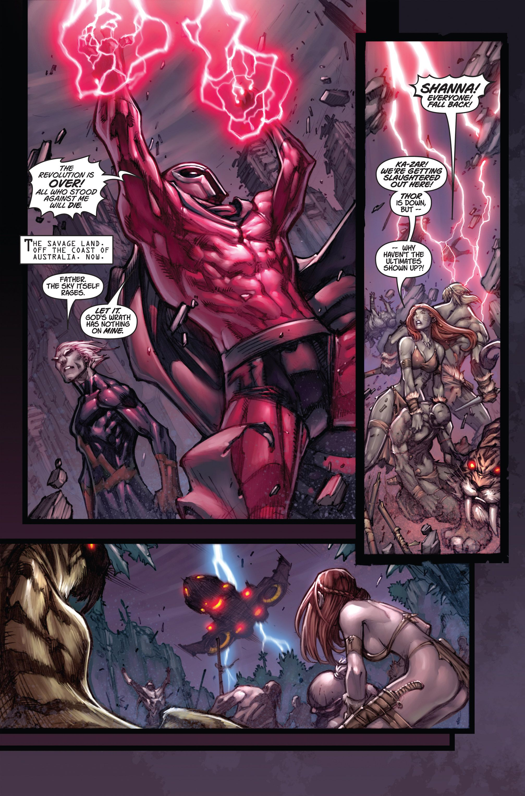 Ultimates 3 Issue #5 - Read Ultimates 3 Issue #5 comic online in high quality