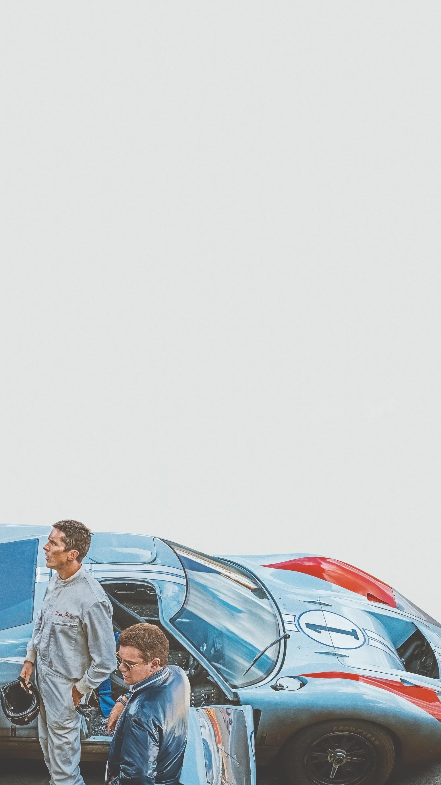 Ford V Ferrari 2019 Phone Wallpaper Moviemania Ferrari