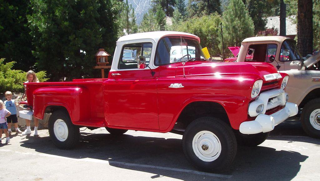 1958 GMC Napco 4x4   Vintage 4x4 Trucks   Pinterest   4x4, GMC ...