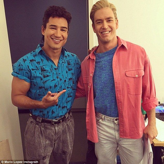 Mario Lopez And His Saved By The Bell Co Stars Dress Up For