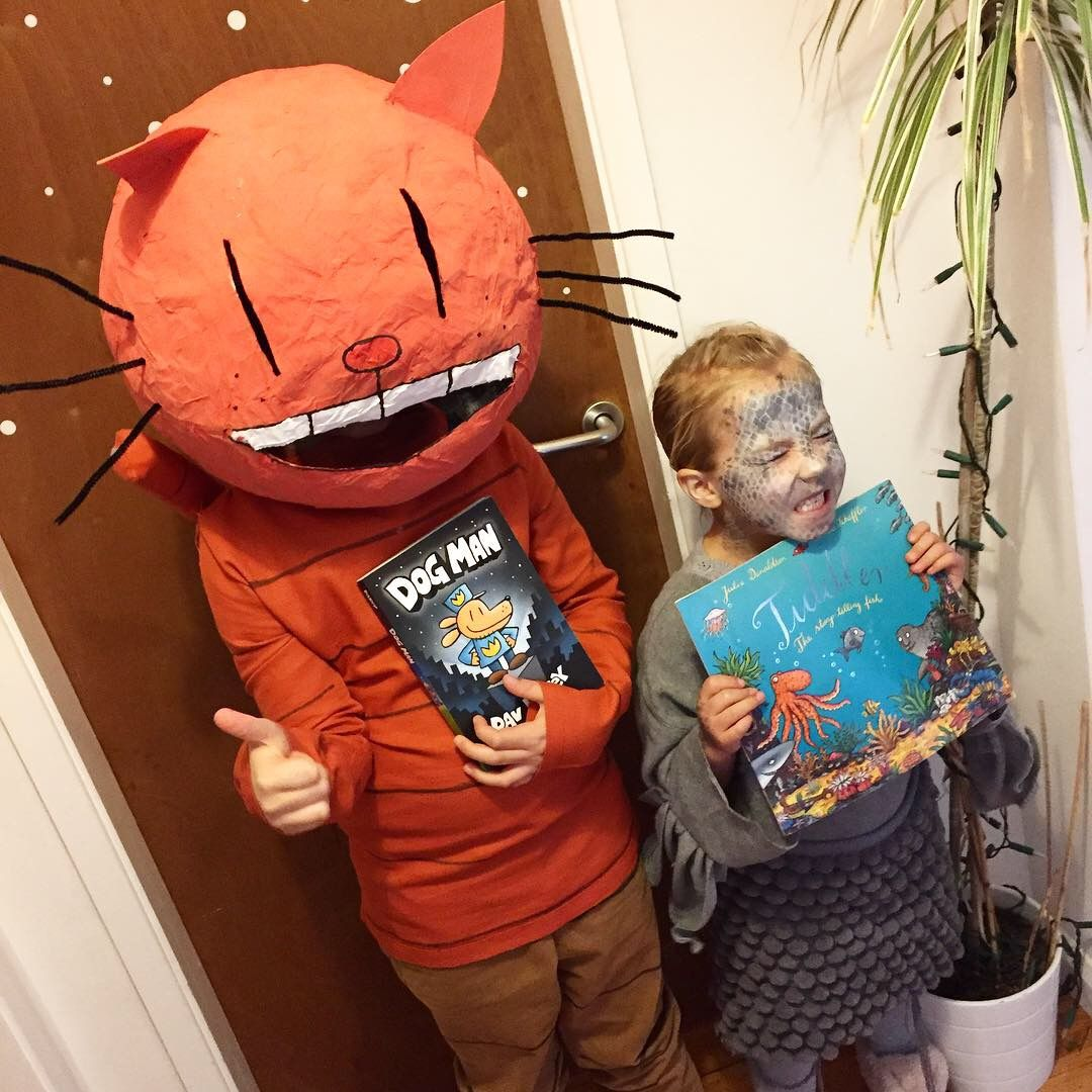 Tiddler Costume And Petey Costume From Dogman World Book Day