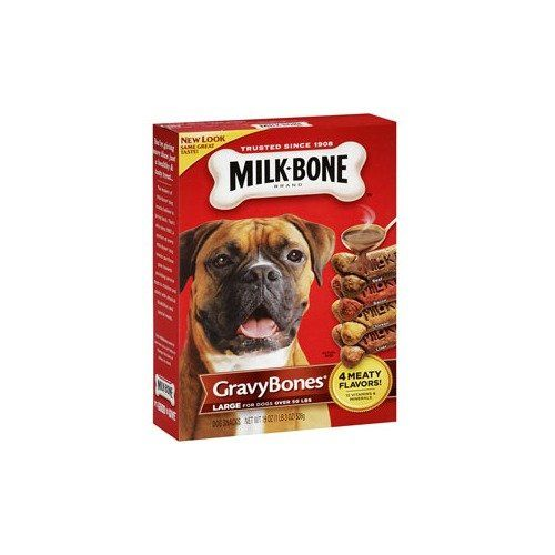 Milkbone Gravybones Dog Biscuits Small 19ounce Pack Of 3 Boxes