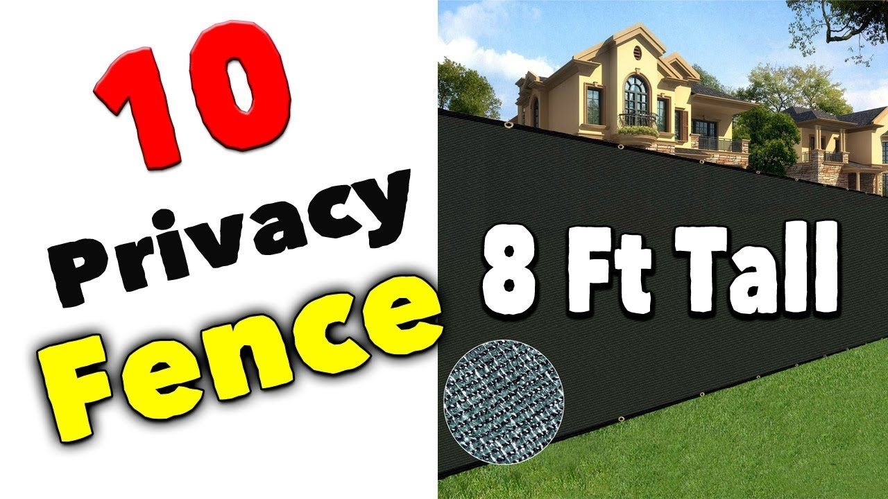 Best 8 Ft Tall Privacy Fence Panels In 2020 Fence Panels Vinyl Fence Panels Privacy Fence Panels