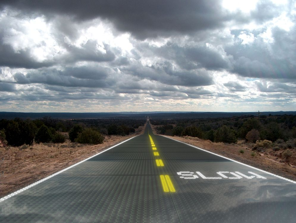 Solar Roadways Could Power The Entire World There S 25 000 Square Miles Of Road Surfaces Parking Lots And Driveway Solar News Solar Technology Solar Windows