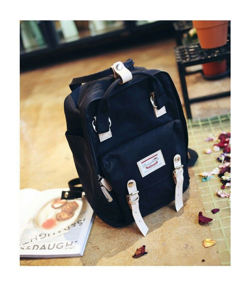 96de8cb0ae Doughnut Macaroon Backpack in Black