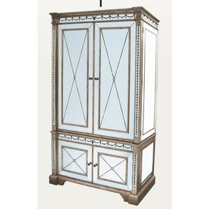 Mirrored Tv Armoire   Google Search