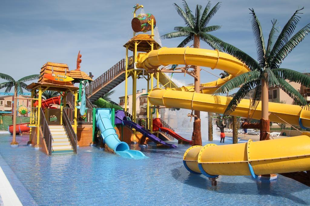 Albir Garden Resort Water Slides Water Park Benidorm