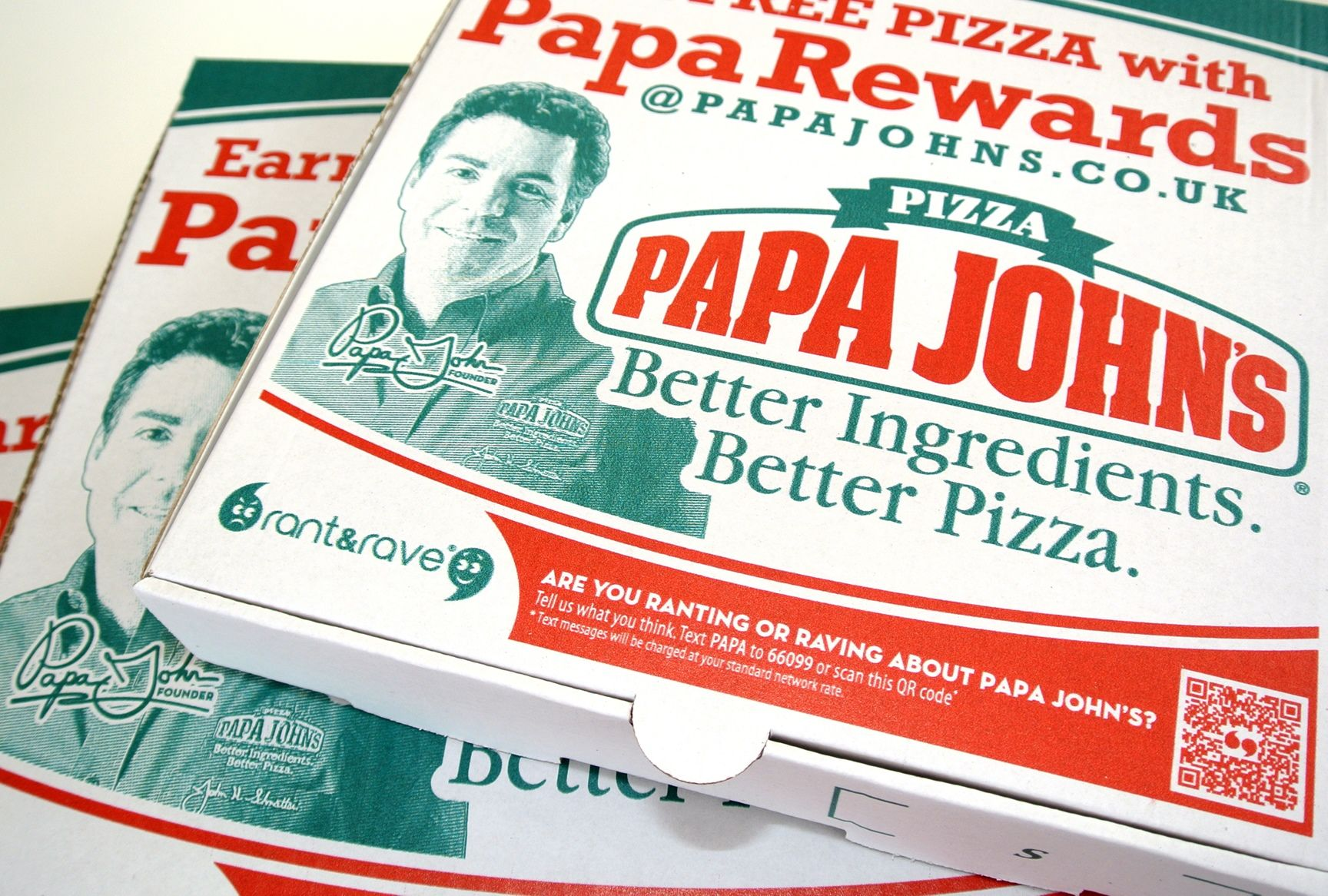 Франшиза Papa John's пришла в Казань | Business Blog ... Papa Johns Pizza Box Opened
