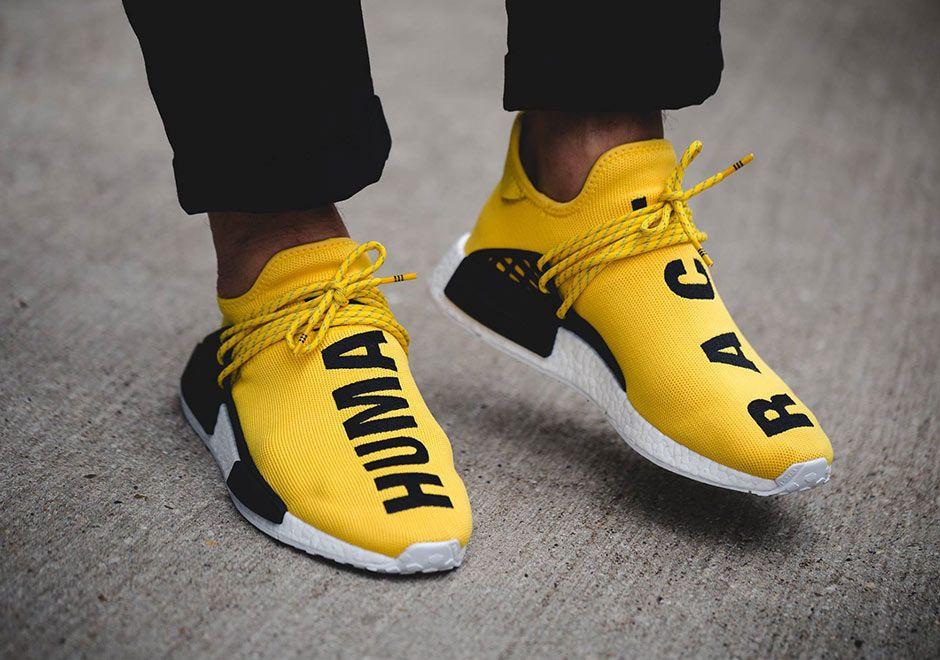 Pharrell adidas NMD Human Race Release