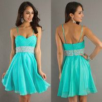 8Th Grade Graduation Dresses With Straps 2014 - Missy Dress