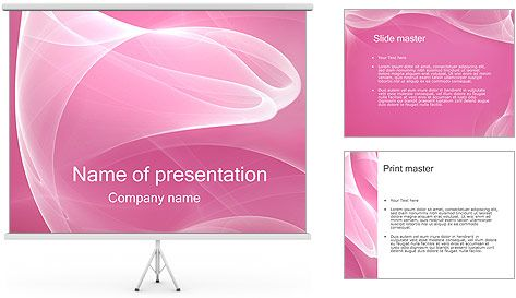 pink powerpoint template templates ppt pinterest template