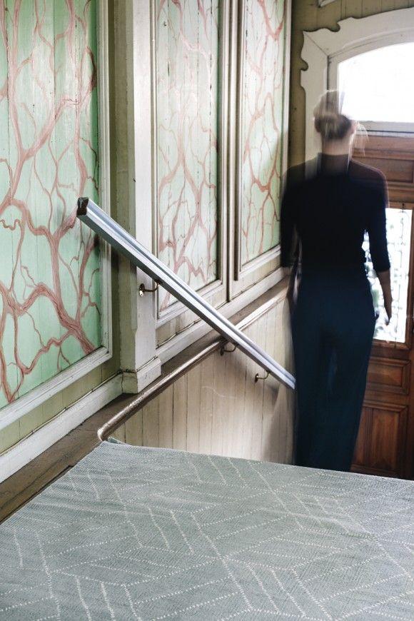 Saana ja Olli Kievari Finarte Suvi Kesäläinen Finnish Design Recycled print carpet