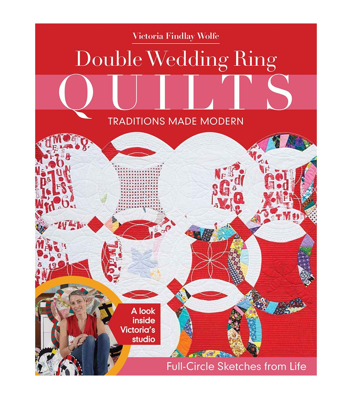 Double Wedding Ring Quilts Book | Double wedding rings, Quilt design ...