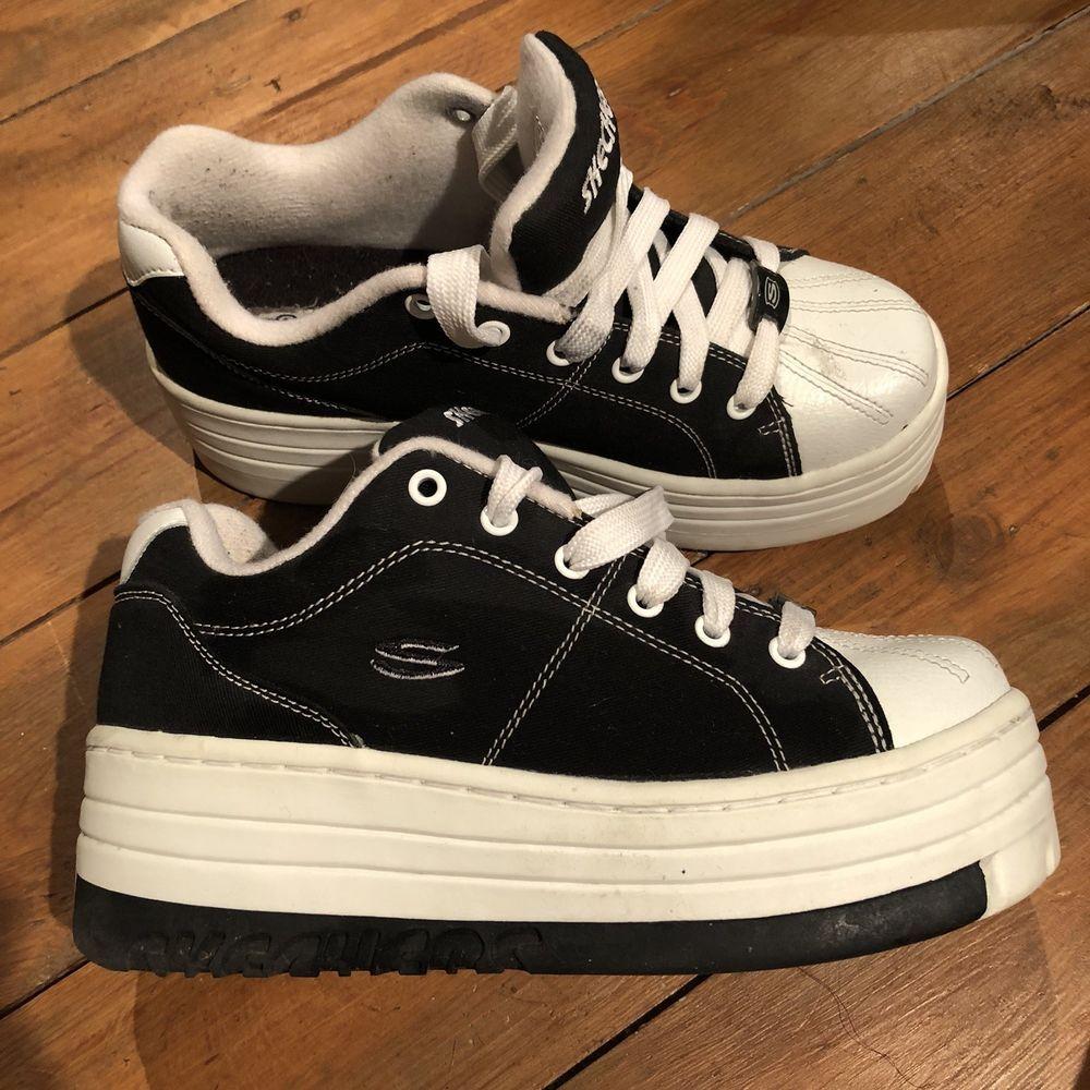 cola Confiar azúcar  Skechers Jammers 90s Platforms! ‼️please read description‼️spice girls  retro | Cute shoes, Shoes, Chunky shoes