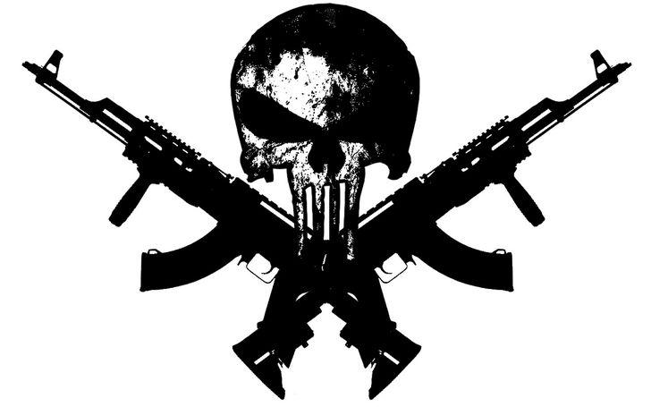 The punisher skull with guns guns 1280x800 wallpaper abstract the punisher skull with guns guns 1280x800 wallpaper abstract gun hd high resolution wallpaper publicscrutiny Gallery