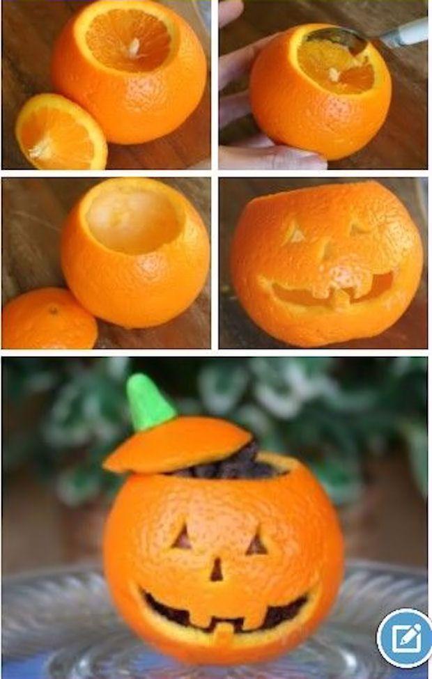 Diy Halloween Crafts Pinterest Part - 37: DIY Jack O Lantern Oranges Diy Craft Halloween Crafts How To Tutorials  Halloween Decorations Halloween Crafts Halloween Diy Halloween Decor Crafts  For Kids