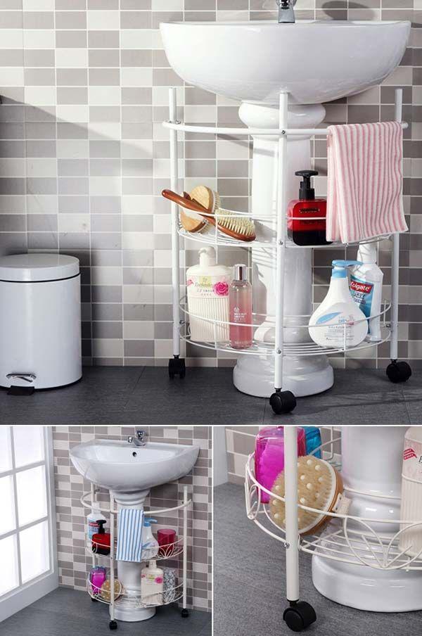 30 Amazingly DIY Small Bathroom Hacks 11 Diy small bathrooms
