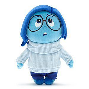 "NEW Disney Parks Pixar Inside Out 12/"" Fear Plush Toy"