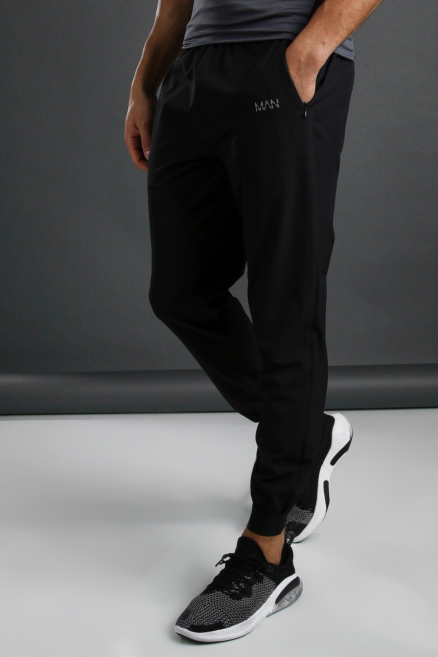 MAN Active Slim Fit Woven Jogger in 2020 Joggers, Mens