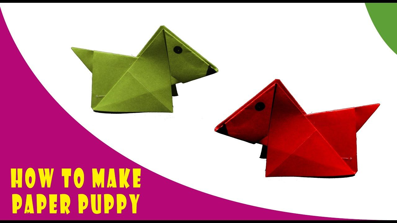 Photo of Origami Dog   How to make Dog with Paper   Kids Crafts   ED Studio