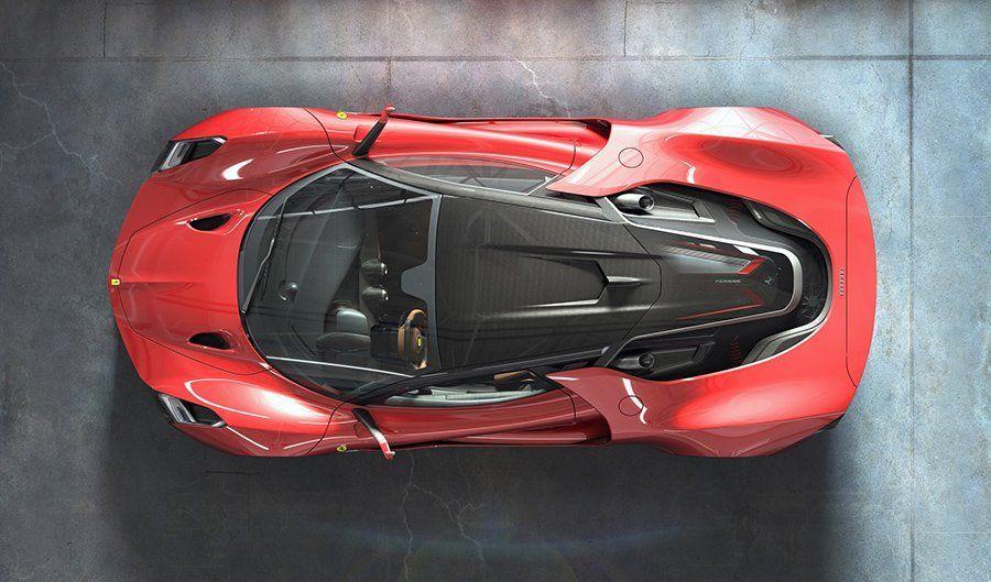 New Ferrari Concept Car by Murray Sharp #newferrari New Ferrari Concept Car by Murray Sharp - Some time ago we've shown you excellent Ferrari concept – Ferrari 612 GTO Concept. It's time to show you another one – super s..., #Car #Concept #Ferrari #Murray #Sharp