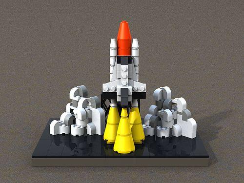 space shuttle lego moc - photo #30