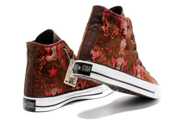629ae9ff8651 Converse Chinese Year All Star Snake Texture Brown Red High Tops Canvas  Sneakers  converse  shoes