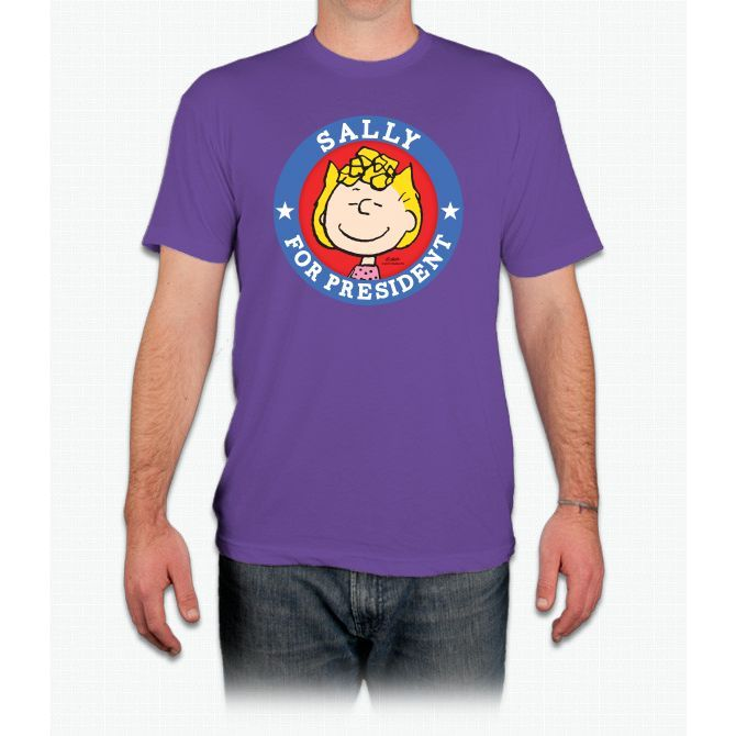 Sally For President - Peanuts Charlie Brown - Men T-Shirt