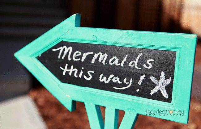 This way to the mermaid party! : )