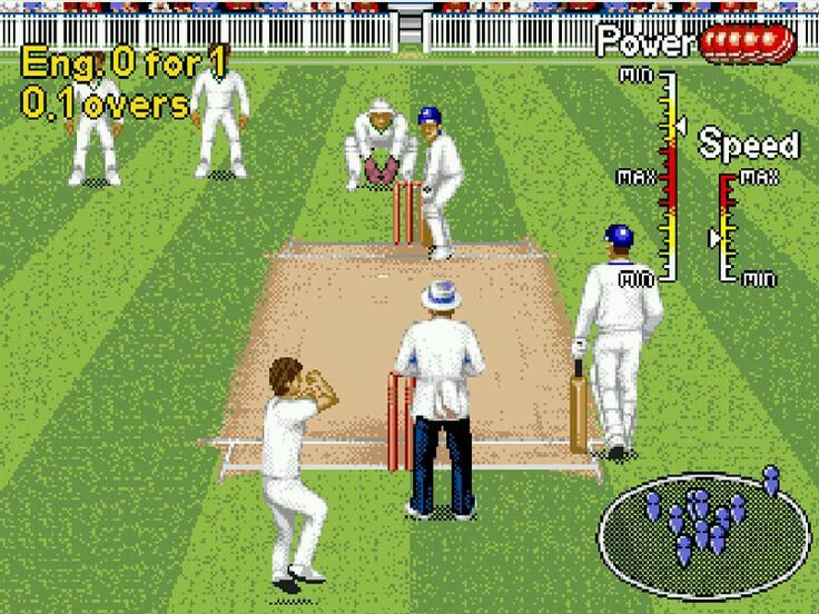 If there is grass on the field, let's play cricket!  Summer is coming!!  www.gamesyouloved.com