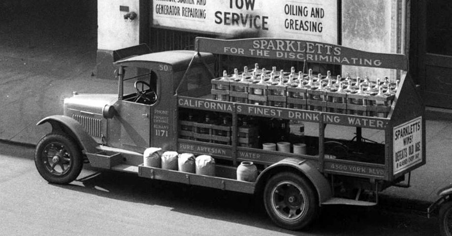 Sparkletts Vintage Water Delivery Truck Water Delivery Water Power