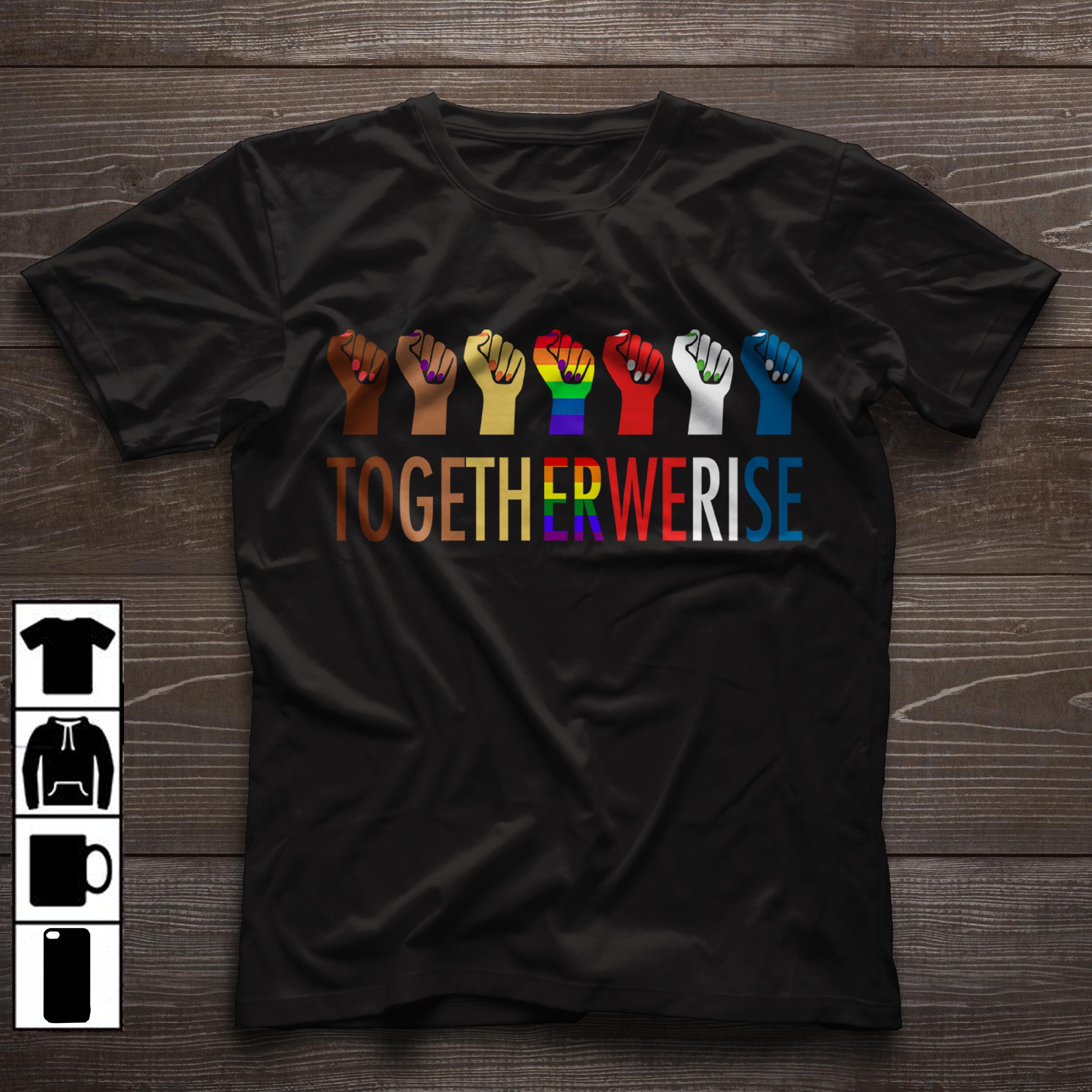 6c86174b01e3 Together we rise | black lives matter | colin kaepernick | blm | human  right | black history | kap7 | black history month | protest | resist | together  we ...