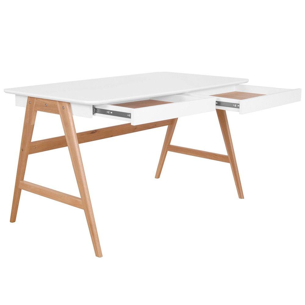 Torsby Office Writing Desk Scandinavian Furniture Milan Direct