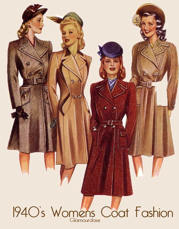 d1e3880ff7bb 1940s-womens-fashion how to look the complete 1940 s woman