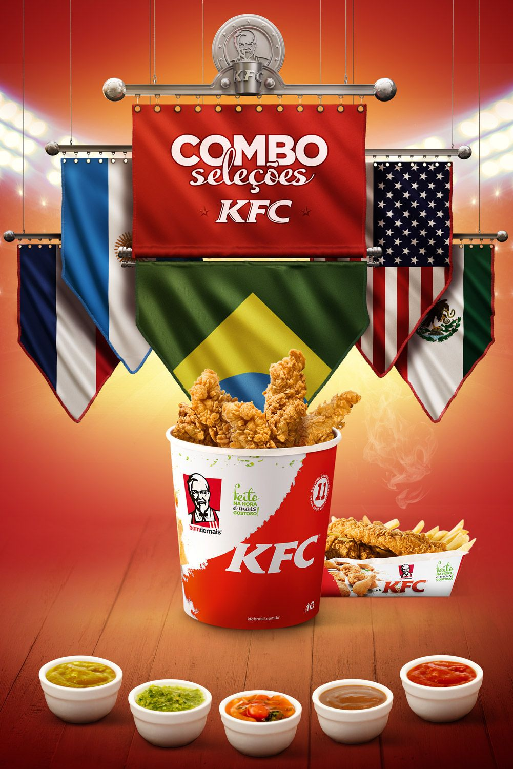 Combo Selees Kfc On Behance Poster Pinterest Mcdonalds Lotteria Voucher Menu Crispy Chicken Rice Set